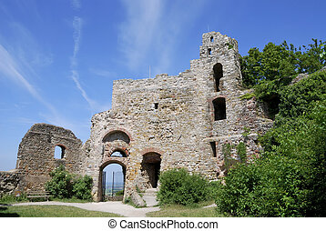 Castle ruin of Staufen Breisgau, Germany