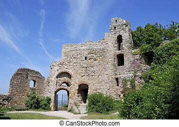 zamek, ruina
