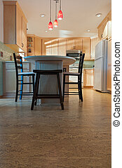 Remodeled Kitchen and Cork Floors - Newly remodeled kitchen...