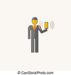 Business Flat Icon Vector Graphics