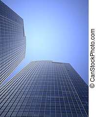 modern building - the modern building of the lujiazui...