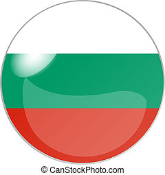 button bulgaria - illustration of a button bulgaria