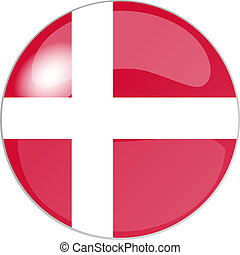 button denmark - illustration of a button denmark