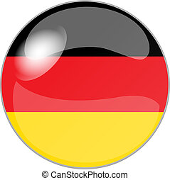 button germany - illustration of a button germany