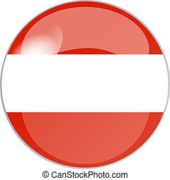 button austria - illustration of a button austria