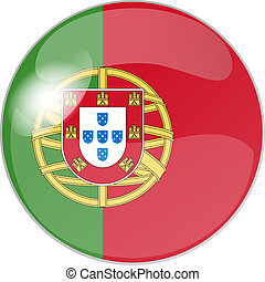 button portugal - illustration of a button portugal