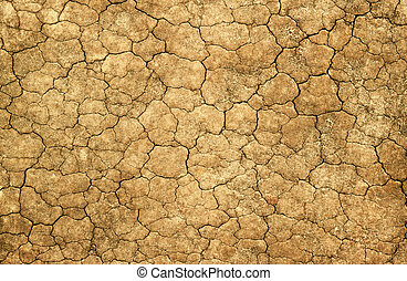 Dry cracked mud natural abstract background