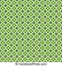 Abstract pattern green background