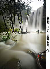 Huai Luang Waterfall - Amazing of Huai Luang Waterfall in...