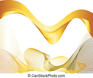 Abstract pink yellow background