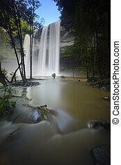 Huai Luang Waterfall - Amazing of Huai Luang Waterfall in...