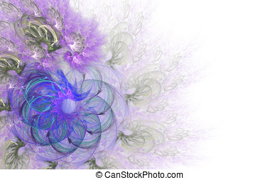 Lacy Flower Abstract