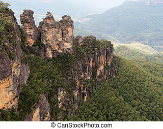 The Three Sisiters - The Three Sisters inBlue Mountains,...