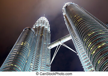 Twin tower in KLCC