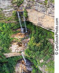 Katoomba Falls in the Blue Mountains, Australia