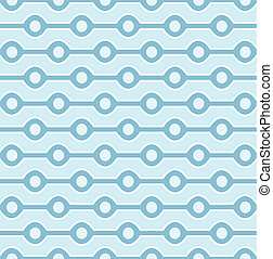 Seamless Blue Pattern - Seamless blue circles background...