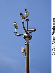 Big Brother 1 - security camera cluster 1