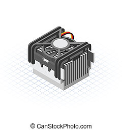 Isometric socket 478 Fan Processor