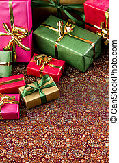 Background for Any Gift-Giving Occasion - Unicolored gifts...