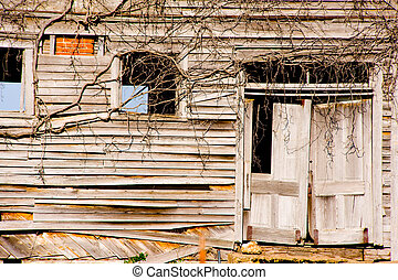 Old, dilapidated building - Very old, dilapidated buidling...