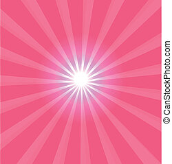 Pink background with lens flare