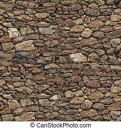 Stone wall seamless texture - Very high resolution stone...