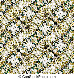 Digital Collage Pattern