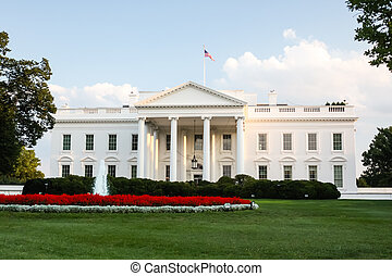 The White House - The official residence of the President of...