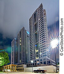 New Construction in Tel Aviv - TEL AVIV - AUG 15, 2014: New...