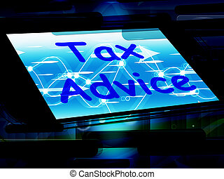 Tax Advice On Phone Shows Tax Help Online - Tax Advice On...