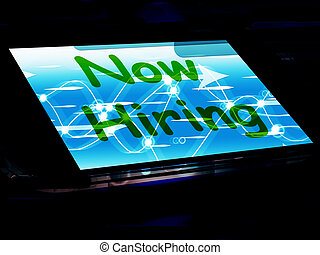 Now Hiring On Screen Shows Recruitment Online Hire Jobs -...