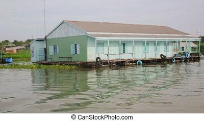 Ordinary life around mekong delta