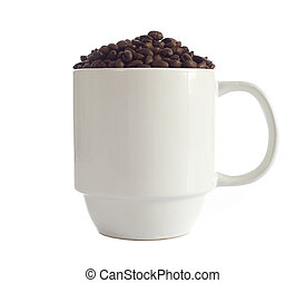 Coffee Cup of Beans