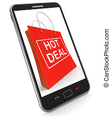Hot Deal On Shopping Bags Shows Bargains Sale And Save - Hot...