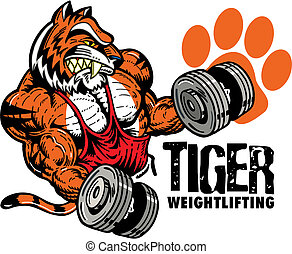 tiger weightlifting