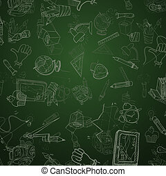 Back To School Background Vector illustration Eps 10