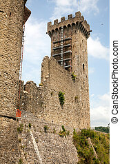 Castelnuovo Magra, located in La Spezia, Italy is the Castle...