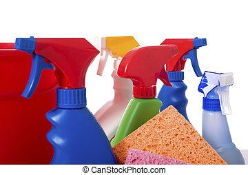 Spring Cleaning Supplies
