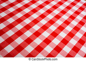 Red Gingham Background - Red and white Gingham or checked...