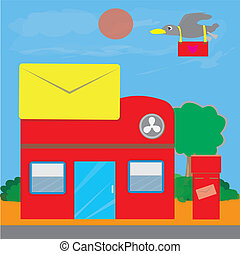 Post office Illustrations and Clipart. 42,020 Post office ...
