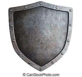 metal, protector, aislado