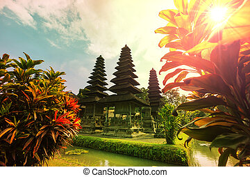 Temple on Bali - Country temple in Bali