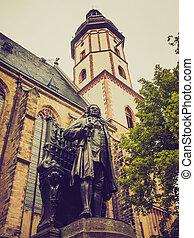 Neues Bach Denkmal - The Neues Bach Denkmal meaning new Bach...