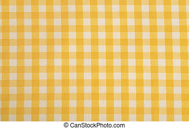 Yellow Gingham Background - Yellow Gingham or checked...