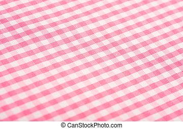 Cor-de-rosa, gingham, fundo