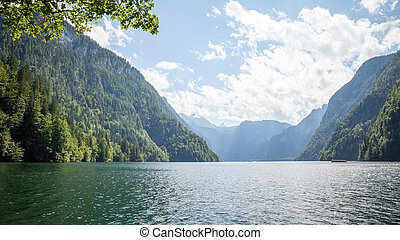 Koenigssee Berchtesgaden - An image of the Koenigssee...