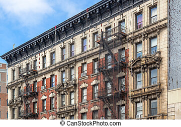 Brownstone Homes in New York
