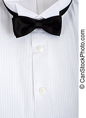 Tuxedo Shirt Background - A backgound consisting of a tuxedo...