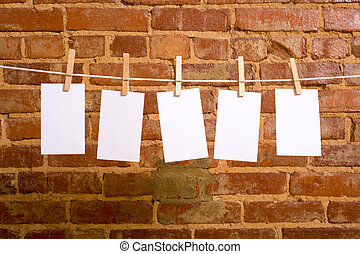 Notes on a Clothesline