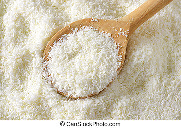 Desiccated coconut - Dried grated unsweetened coconut meat